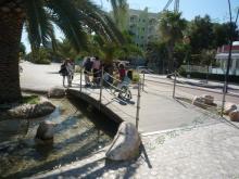 海边步行街儿童游乐场所